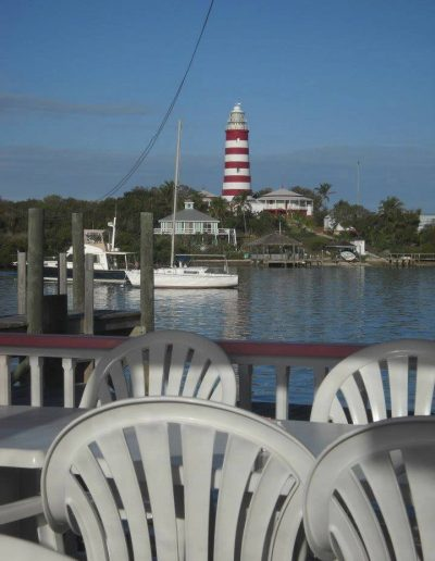 Lighthouse from deck